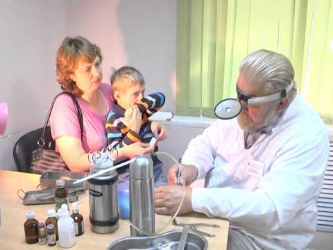 видео крио лечение лор кабинет криомед